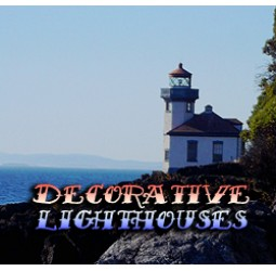 Decorative Light Houses