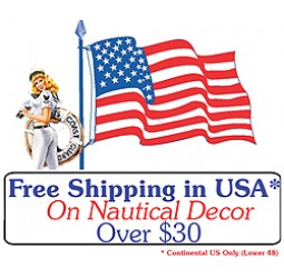 Free Shipping On Nautical Decover Over $30