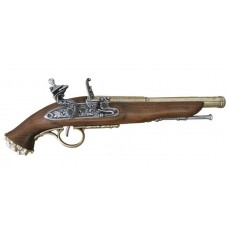 1700's Brass Finish  Pirate Flintlock