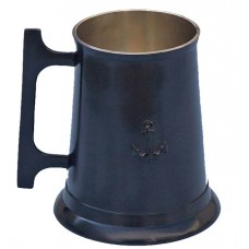 Bronze Oil-Rubbed 16oz  Anchor Tankard With Cleat Handle