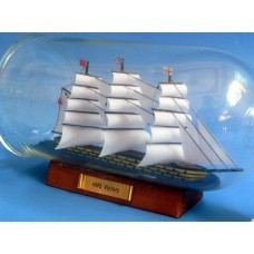 "11""  HMS Victory Ship In A Bottle"