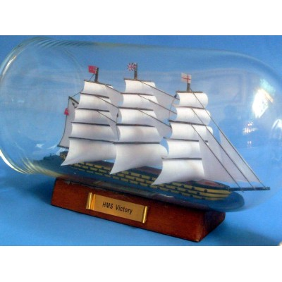 "11""  USS Constitution Ship In A Bottle"