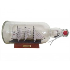 "11"" Cutty Sark Ship in A Bottle"