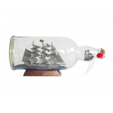"11""  ""Flying Dutchman"" Pirate Ship In A Bottle"
