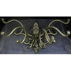 Victorian Antique-Style Cast Iron Swivel Hat-Coat-Jewelry  hook