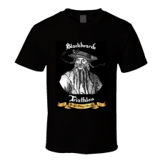 Blackbeard Pirate Unisex Graphic Tee Shirt