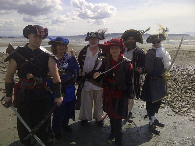 shady isle pirates in white rock