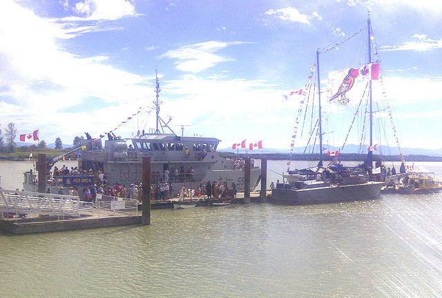 Shady Isle Pirates Mini-Brig and the Royal Canadian Navy