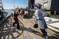Swordplay at Richmond Maritime Festival