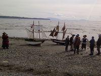 shady isle pirates and their mini brigs in white rock