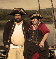 shady isle pirates Conner Odae and Lady Gunner Sepia.jpg