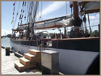 Tallship Oriole at Ship To Shore 2014