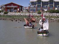 Mini-Brigs at Steveston Harbour