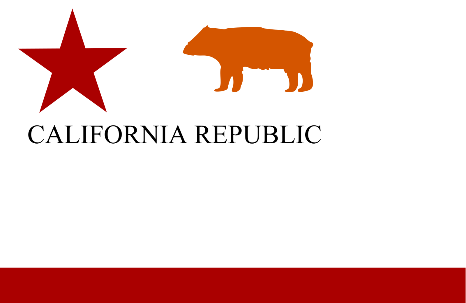 1st Bear Flang California