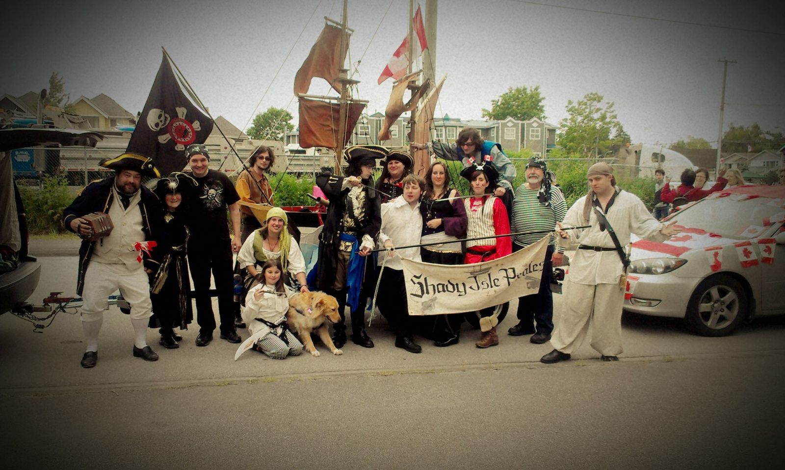 Shady Isle Pirates 67th Annual Salmon Festival Parade