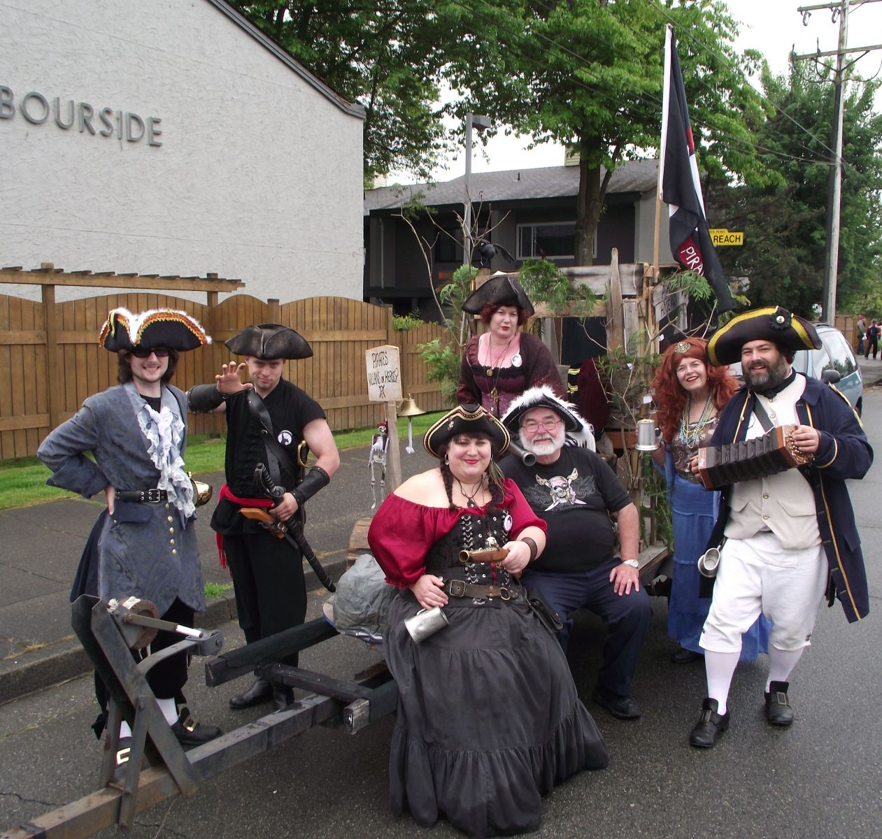 Shady Isle Pirates Ladner May Days Parade