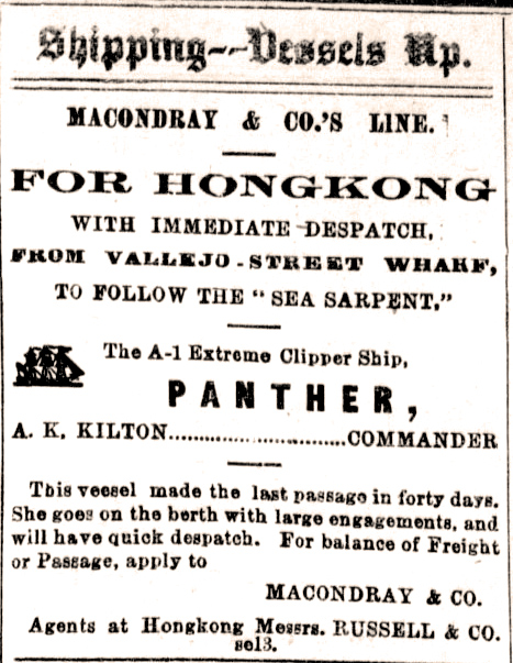 Newspaper Clipping - Panther 09-1870