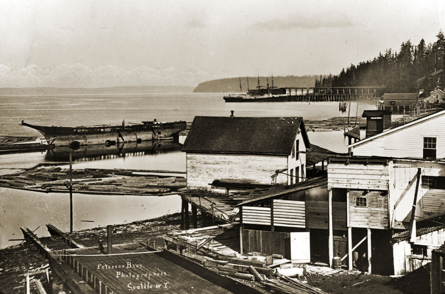 Seattle WaterFront circa1881