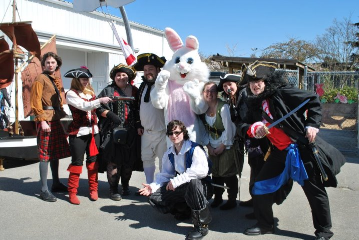 Shady Isle Pirates Easter