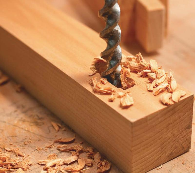 how to make a mortise by hand